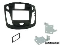 Connects2 Ford Focus 2011 on Double Din Stereo Facia Fitting Kit Black CT23FD28