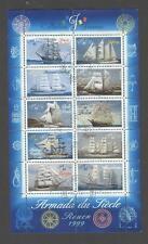 France - Bloc Feuillet Oblitéré - Armada du siècle Rouen 1999 - N°25