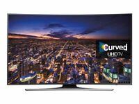 "Samsung UE65JU6500KXXU 65"" 4K LED TV - Cracked Screen(Needs Fixing)  New UK Sale"