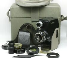 LADA Soviet Movie camera 2x8 USSR 1970 Rare LOMO Set Good Condition CINE