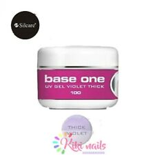 Gel costruttore monofasico denso THICK VIOLET Base one Silcare 100 gr