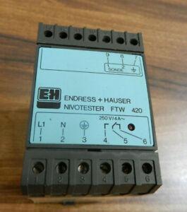 NIVOTESTER FTW Endress + Hauser