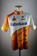 Agu rabobank Colnago radtrikot talla 6 XL 58cm bike Cycling Jersey camisa h8
