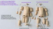 """Corps 27 cm  de poupée ancienne en bois reproduction d'ancien  """"Rosette"""""""
