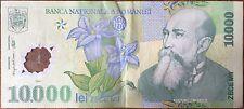 ROUMANIE - 10 000 LEI - 2000 - Billet de banque // Qualité : TTB