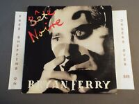 BRYAN FERRY (OF ROXY MUSIC) BETE NOIRE 1987 CLUB LP W/ LYRIC SLEEVE 25598-1