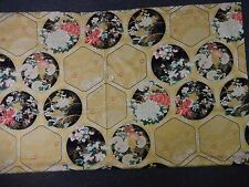 Robert Kaufman  fabric Panels Japanese Floral Trellis Imperial collection