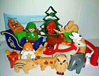 Playmobil 1 2 3 Advent Calendar INCOMPLETE Parts Christmas Forest Animals 5497