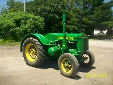 1936 John Deere D Unstyled Antique Tractor No Reserve Spokes Pto farmall allis b