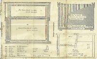 Ancien Plan de Ruche LAYENS,BURKI-JEKER d'après les originaux de Gaston Bonnier