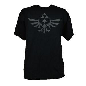 The Legend Of Zelda Skyward Sword Logo Authentic Nintendo Game T-shirt Black
