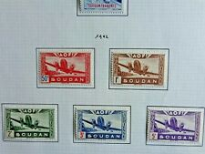 Stamps - French Sudan 1942 - Air Mail - MH - VF
