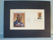Famed Union & Civil Rights Leader A. Philip Randolph & First Day Cover