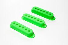 Cubiertas pastillas single coil verdes - Green Single Coil covers Set 50/52mm
