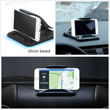 Black PC+Silicone Car Autos Interior Center Dashboard Phone Holder For iPhone 6S