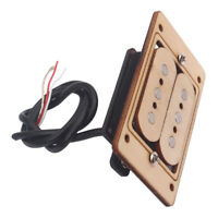 Humbucker Double Coil Pickup Maple For 3 Strings Cigar Box Guitar 73*48*22mm