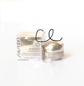 Shiseido Benefiance Wrinkleresist24 Intensive Eye Contour Cream .51oz 15ml