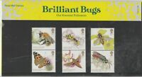 GB Stamps 2020 Brilliant Bugs Presentation Pack