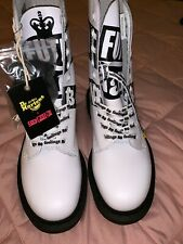 Dr. Martens Women's 1490 LIMITED EDITION Sex Pistols White 10-Eye Size 6/men's 5