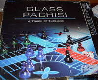 Classic Pachisi Solid Elegant Glass 2011 Board Game Replacement Parts Pieces