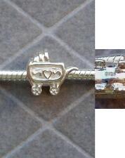 Echtschmuck-Bettelarmbänder & -Anhänger im European Bead-Stil mit Baby-Charm (s)