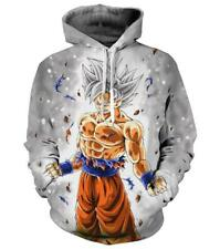 Cosplay Dragonball Z 3D Anime Kapuzen Sweatshirt Langarm T-Shirt Hoodie Pullover