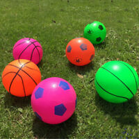 Soft Rubber Small Soccer Basketball Children Kids Sport Outdoor Ball Gift Toy TR