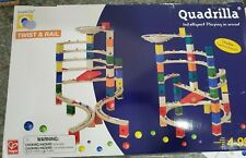 Hape Quadrilla TWIST SET Wooden Marble Race Maze Play Construction