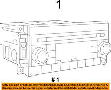 CHRYSLER OEM 2014 200-Stereo Audio Radio Dash Head Unit 5091197AC