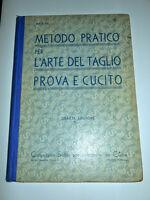Moda Singer - Metodo pratico per l'arte del taglio prova e cucito - ed. 1939