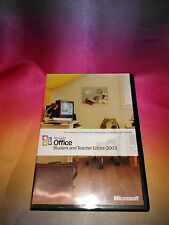 Microsoft Office 2003 Student and Teacher Edition with Key.