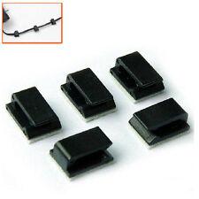 Car Wire Cord Clip Cable Holder Tie Clip Fixer Organizer Drop Adhesive Clamp ATA