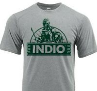 Indio Beer Dri Fit graphic T-shirt moisture wicking sun shirt polyester SPF tee