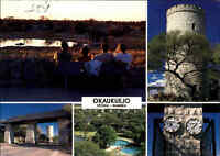NAMIBIA Postkarte mit Briefmarke (Pferde) Okaukuejo Rest Camp Etosha Namib color