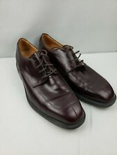 Rockport 10M burgundy leather split toe oxford Kinetic Air Circulator shoes