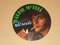 Ralph McTell 1975 Warner Brothers Records unused Promo Sticker