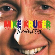 Mike Krüger - Livehaftig  CD rar -