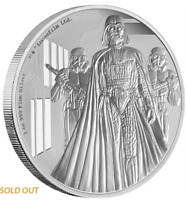 Niue 2 Dollar 2016 - Darth Vader™ - Star Wars™ Classics (1.) - 1 Oz Silber PP