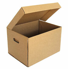 15x PREMIUM ARCHIVE BOXES - DOCUMENT STORAGE CARDBOARD PACKING MOVING REMOVALIST