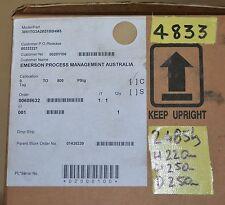 NEW  Rosemount 3051TG3A2B31BB4M5  Pressure transmitter 0-800 PSIg