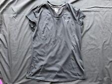 Women's Nike Dri Fit T Shirt - Black 645443 010 Running Gym Medium