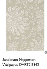 Sanderson Mapperton DART216342 Wallpaper, RRP £54