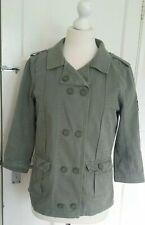 Superdry Women Regiment On Duty GS5IT080 Jacket Coat Cabin Green Size M