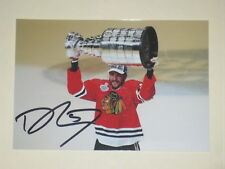 Chicago Blackhawks TREVOR VAN RIEMSDYK Signed 4x6 Photo NHL AUTOGRAPH 1