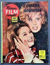 ► ROMAN FILM COMPLET CHEZ NOUS N°114 - 1963 - L'OMBRE HOMICIDE