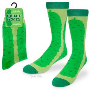 PICKLE SOCKS Men's Dress Socks Archie McPhee - CLOSEOUT