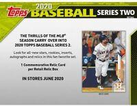 Topps 2020 Series 2 Baseball Retail Display Box Ships Now