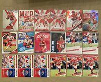 Patrick Mahomes 2020 Mosaic Prestige Base/ Insert 18 Card Lot Kansas City Chiefs