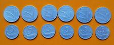 Repubblica Italiana 5 + 10 Lire 1954 Spiga Delfino