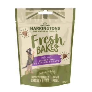 Harringtons Grain Free Chicken Liver Training Dog Treats 100g